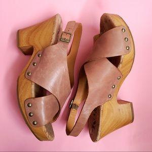 Korks Clog Platform Clog Sandal